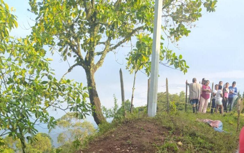 Asesinan a tres personas en una zona rural del Valle
