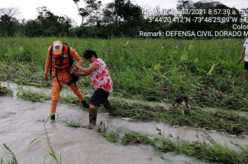 En alerta se debe permanecer por el invierno y desbordamiento de los ríos
