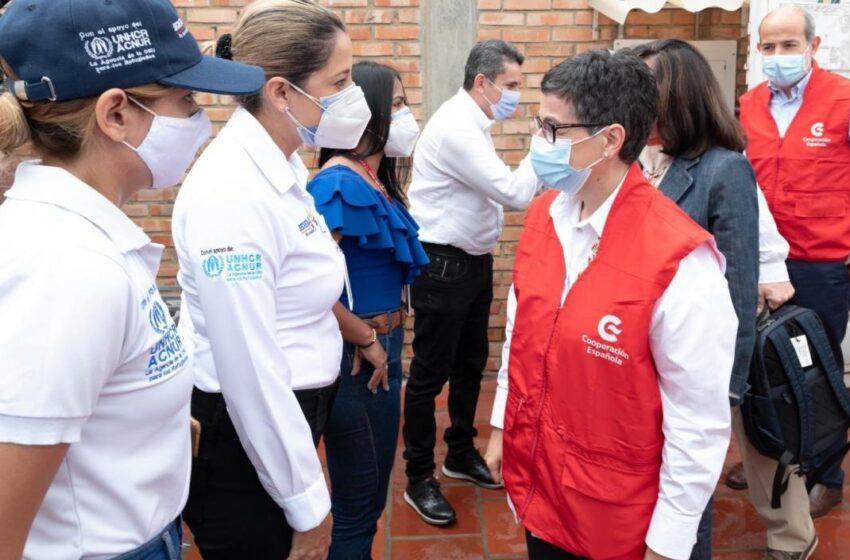 Venezuela dice que visita de González Laya a Cúcuta es una «puesta en escena»