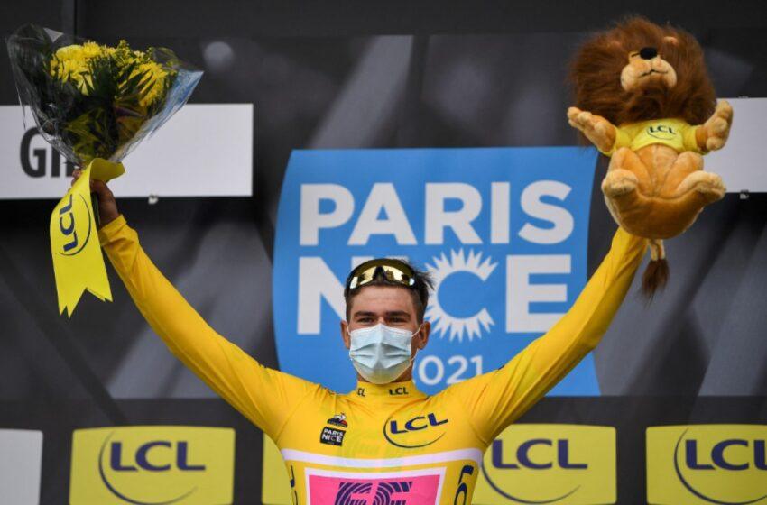 Clasificación general de la París-Niza 2021 tras etapa 3, con nuevo líder