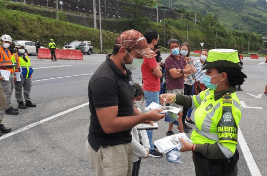 Listo reversible para la operación retorno domingo 4 de abril en un solo sentido sobre la vía a Bogotá