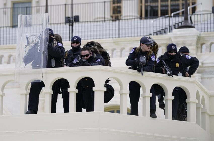 La policía del Capitolio fue avisada del ataque pero le ordenaron no actuar