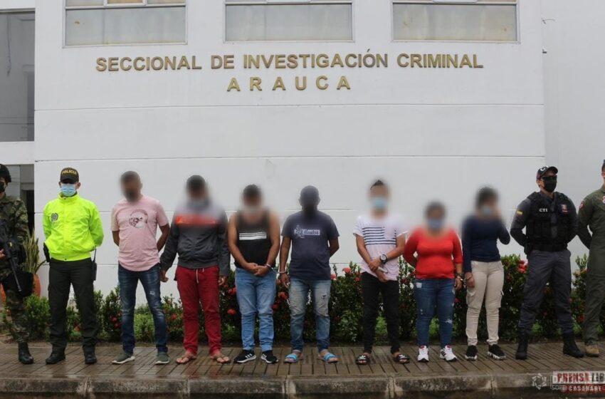 Siete personas capturadas vinculadas al secuestro del coronel Pérez Arciniegas