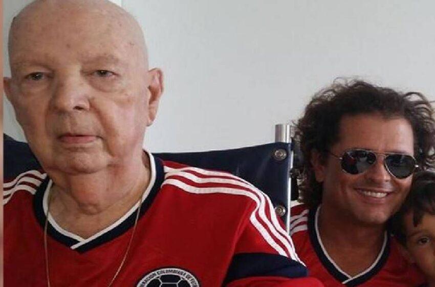 A los 91 años murió el padre de Carlos Vives