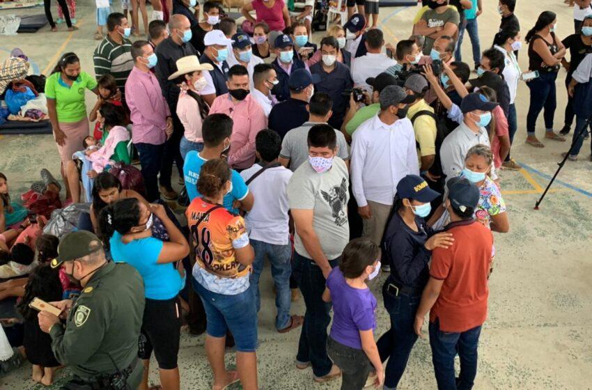 Se complica la situación social en Arauquita por la presencia de población desplazada de Venezuela