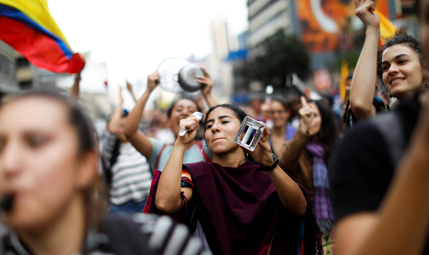 El 28 de este mes paro nacional de protesta pacífica contra reformas pensional, laboral y tributaria