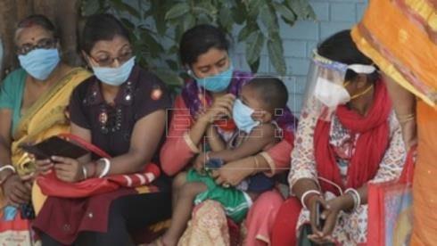 La India registra un nuevo máximo histórico de casos por coronavirus
