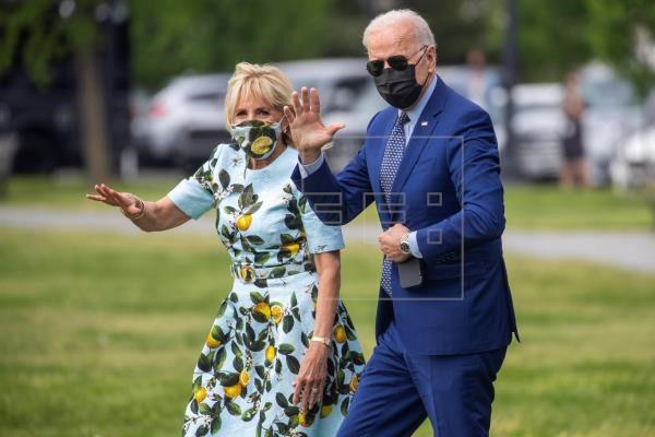 Biden celebra sus primeros 100 días en la Georgia que le catapultó al poder