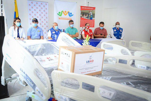 Agradecen a la Cruz Roja Colombiana aporte a los hospitales de Villavicencio y Granada