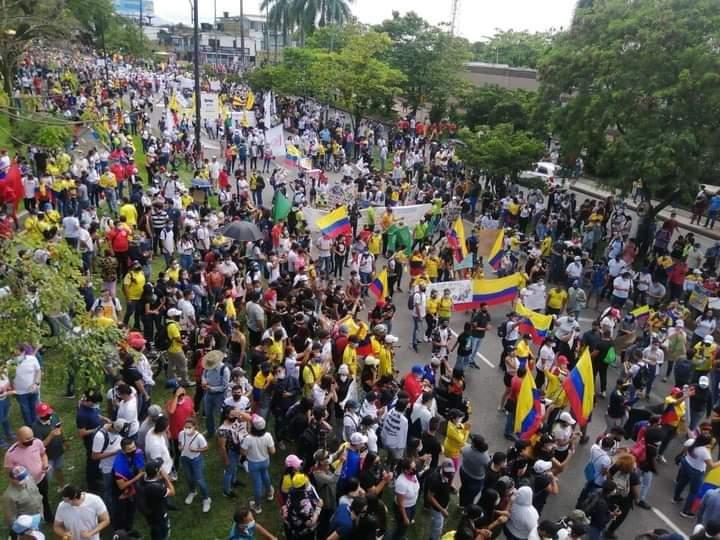 En Villavicencio es creciente la inconformidad con el gobierno de Duque y la Reforma Tributaria