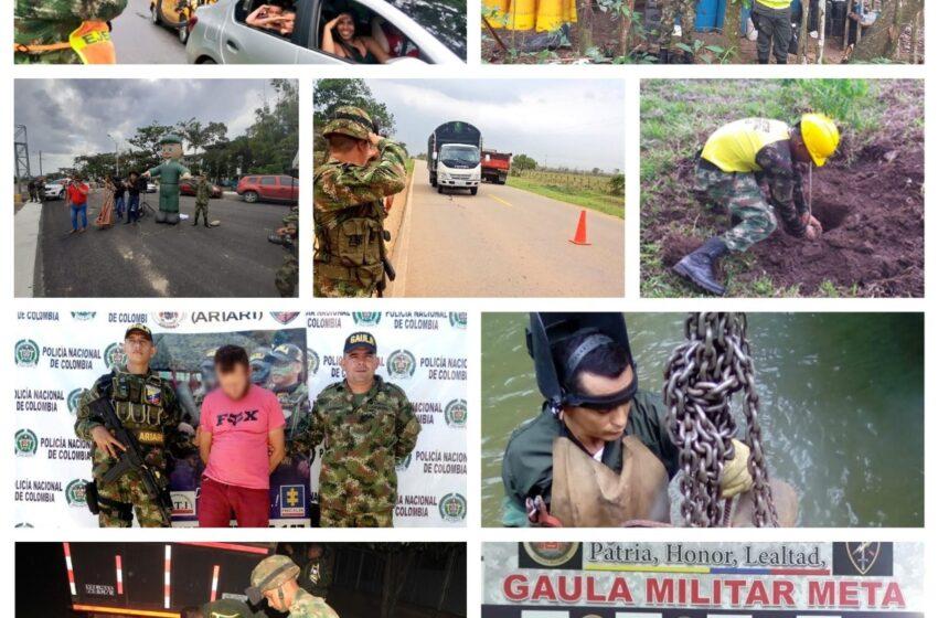 Positivo reporte da la Séptima Brigada en su lucha contra la delincuencia