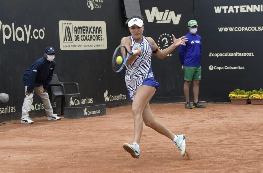 María Camila Osorio, el cohete de 19 años que reivindica el tenis colombiano