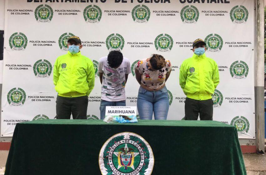 A la cárcel  una pareja implicada en tráfico de estupefacientes en Guaviare