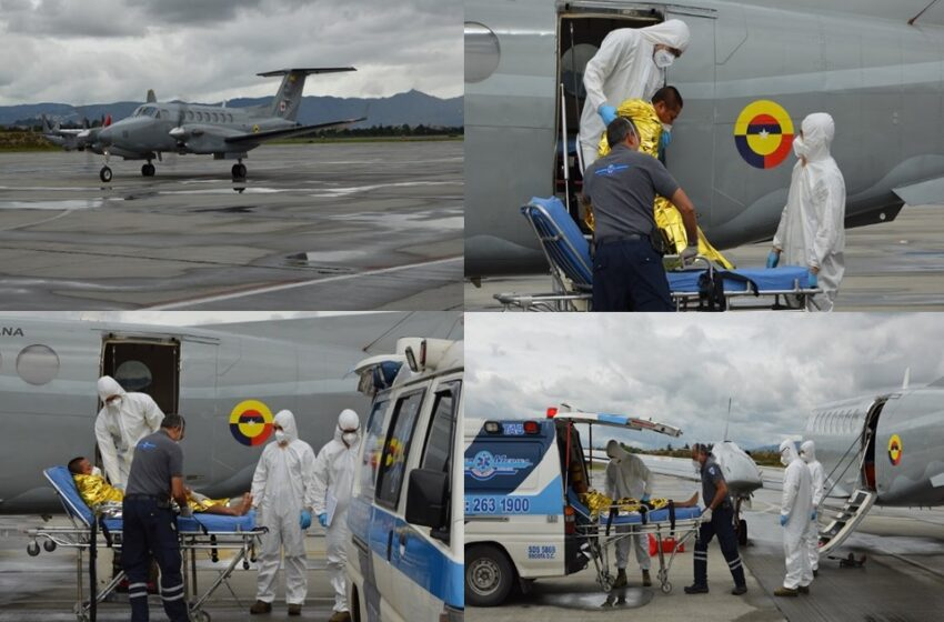 Mujer en grave estado de salud trasladada en un avión medicalizado desde Puerto Carreño