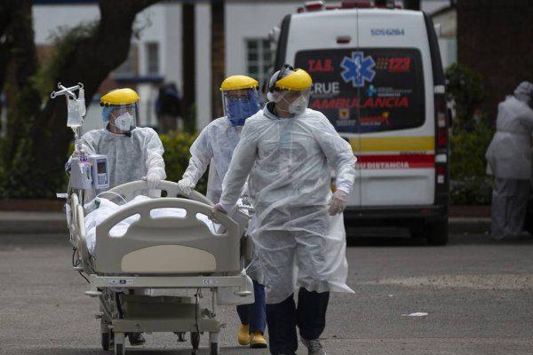 Colombia supera por primera vez las 500 muertes diarias por covid-19