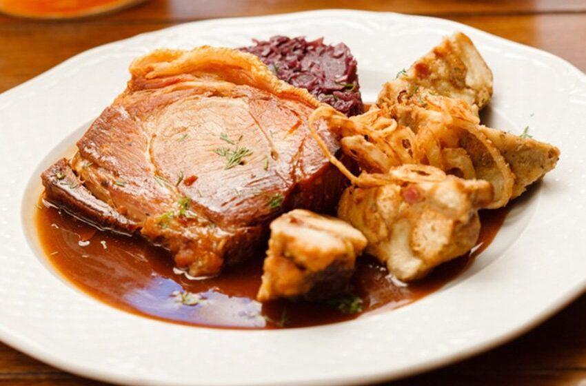 Delicioso lomo de cerdo en cerveza, para amigos y familia