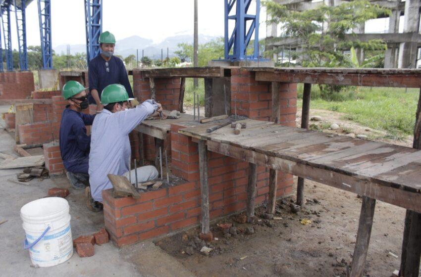 Revisión de calidad y entrega a las obras en Polideportivos, realizó Infraestructura de Villavicencio