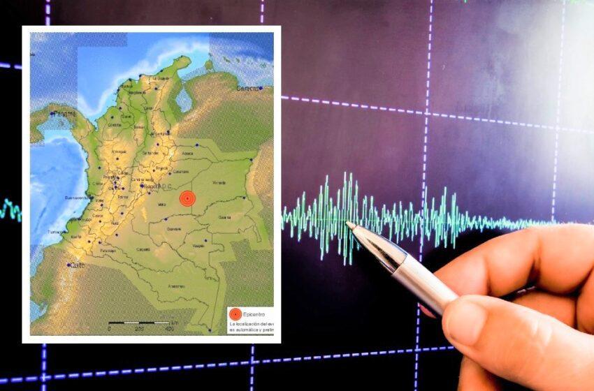 Por temblores en el Meta socorristas piden conservar la calma