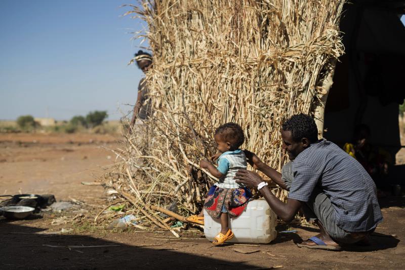 Unos 5.000 menores separados de sus familias por el conflicto en Etiopía