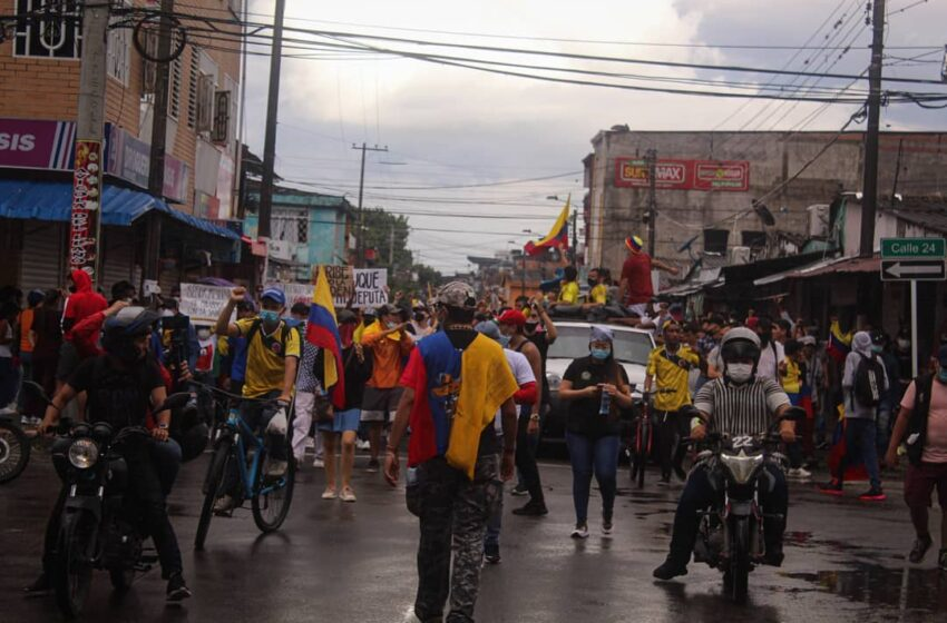 Destacan comportamiento de manifestantes en Villavicencio, pero repudian actos vandálicos
