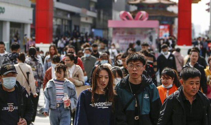 La población de China creció un 5,38 % hasta los 1.411 millones de habitantes