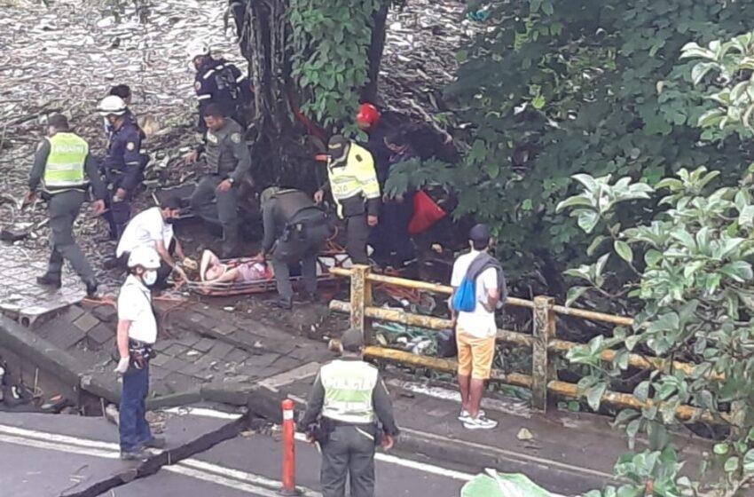 Se recupera ciudadano atracado y lanzado al vacío en inmediaciones del Parque Infantil