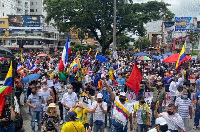 Sindicatos convocan otra protesta el 5 de mayo contra el Gobierno colombiano