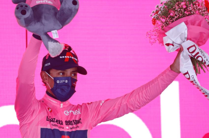 Clasificación general Giro de Italia 2021 tras etapa 16; Egan Bernal se impuso y ganó