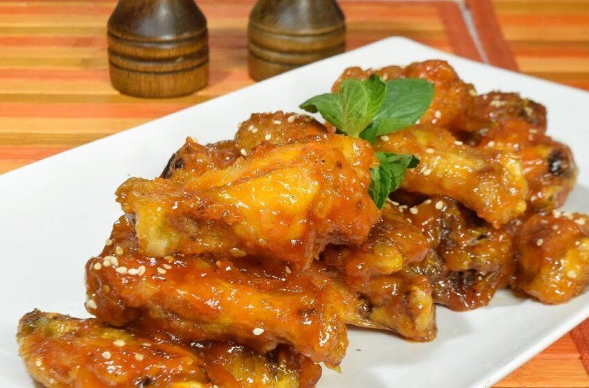Mira que delicia: Alitas de pollo agridulces con piña y salsa habanero