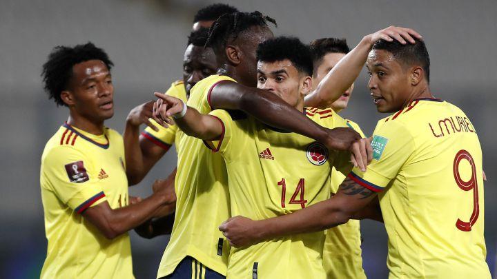 Tabla de posiciones Eliminatorias sudamericanas tras fecha 5; Colombia subió
