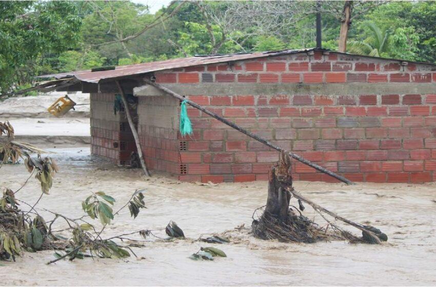 El invierno causa estragos en municipios  de Arauca