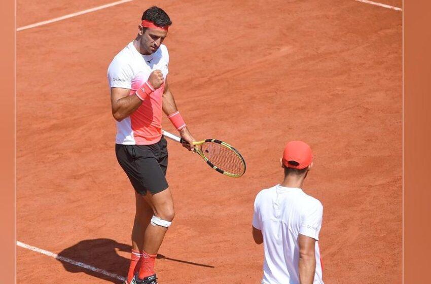 Cabal y Farah, imparables; están en semifinales y a 2 partidos del título en Roland Garros