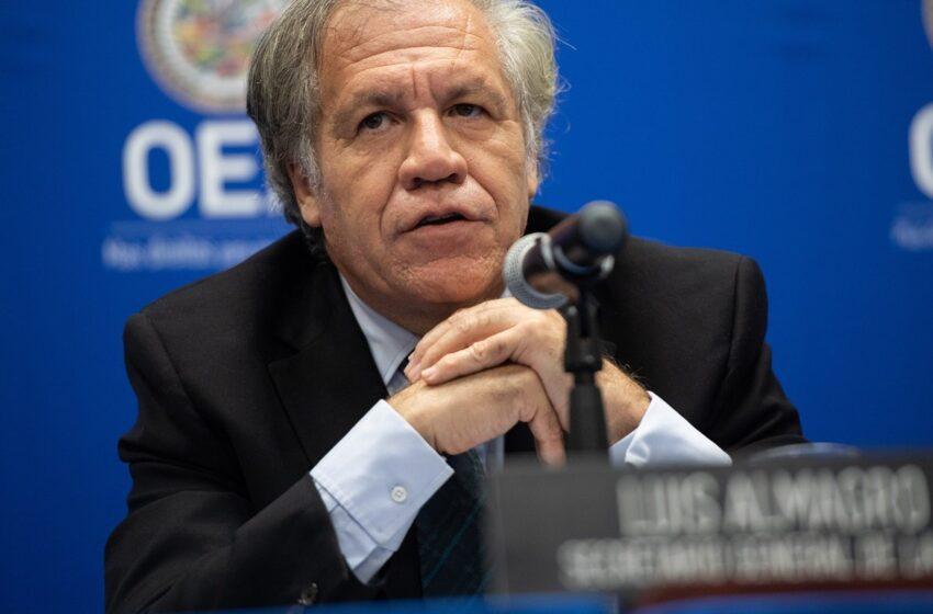 Almagro pide suspender la participación de Nicaragua en la OEA