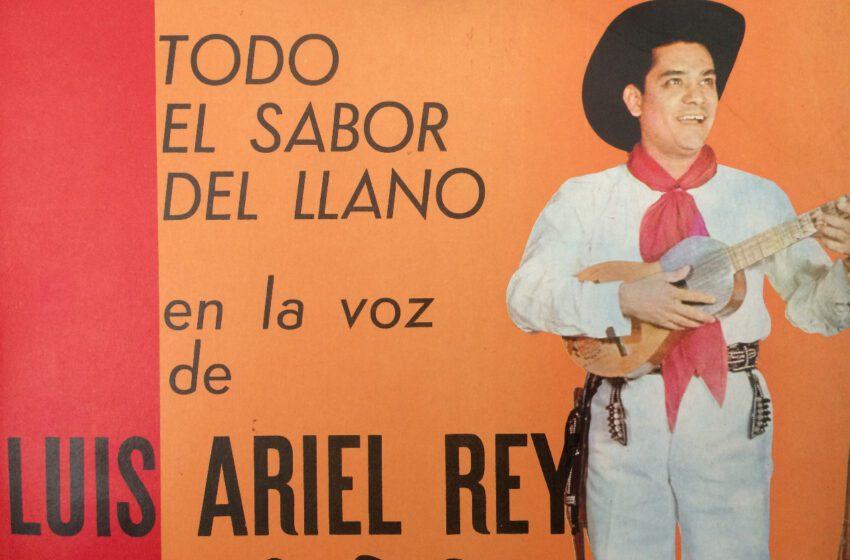 Luis Ariel  Rey el pionero  de la música llanera nació el 6 de junio de 1.934