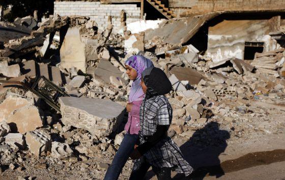 Mueren 7 civiles de una misma familia, la mitad niños, en ataque de Damasco