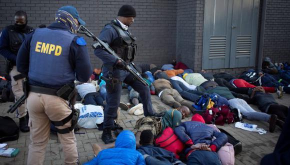 Suben a 3.407 los detenidos en Sudáfrica por los disturbios y saqueos masivos