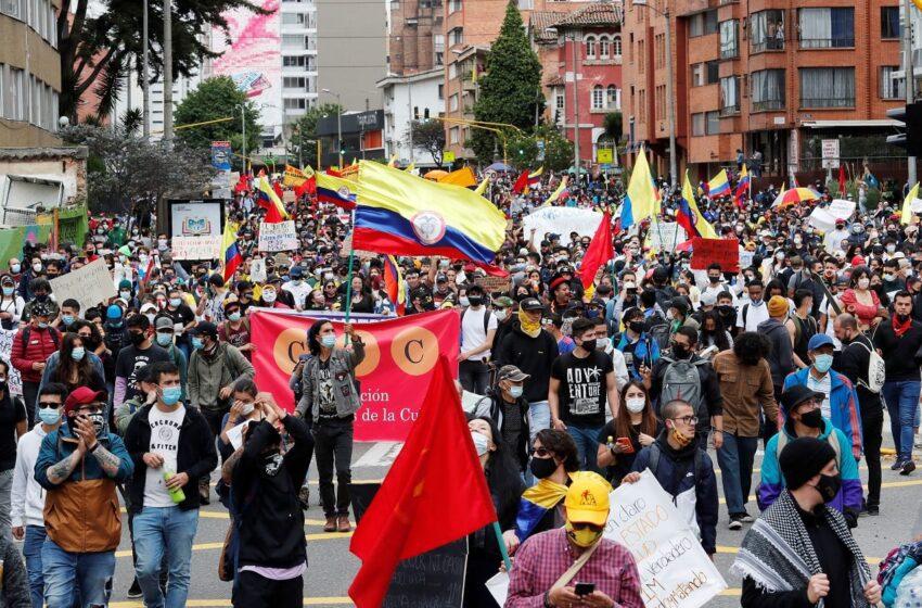 Activan plan contra violencia en las protestas del 20 de julio en Colombia