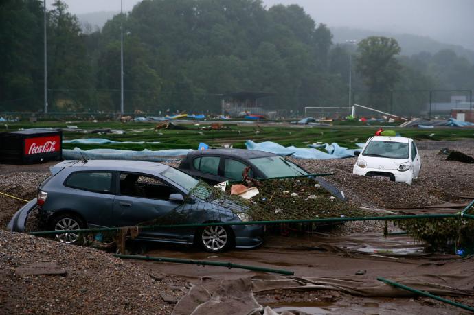 Al menos 14 muertos por las inundaciones en Bélgica
