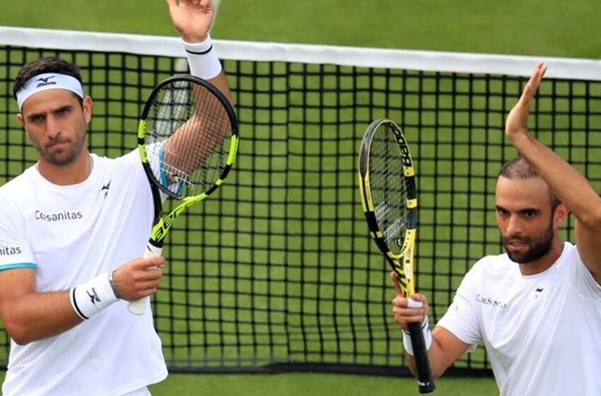 Cabal y Farah clasificaron a cuartos y están a 3 victorias de repetir título en Wimbledon