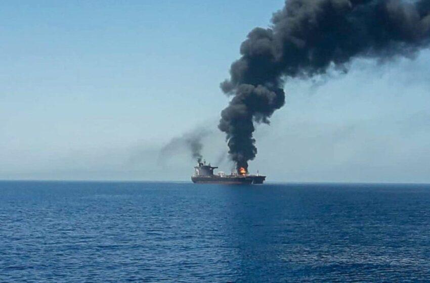 EE.UU. dice estar «seguro» de que Irán atacó el buque en la costa de Omán