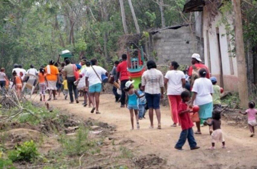 Más de 800 de los 4.000 desplazados en Colombia deciden regresar a sus casas