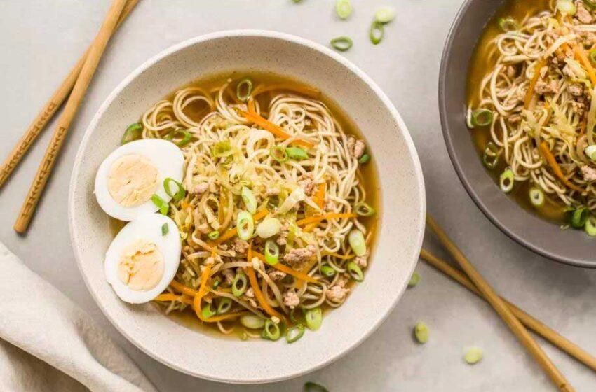 Ramen casero, prepara esta deliciosa sopa japonesa