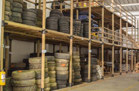 Las llantas usadas pueden entregarlas al depósito destinado por Cormacarena