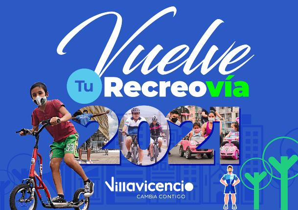 Desde este domingo la Recreovía retorna a Villavicencio