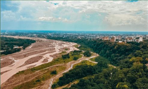 Sobre proyecto de remodelación malecón río Guatiquía Arpas de Agua, nada se ha definido