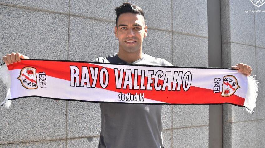 Falcao llevará el dorsal 3 en el Rayo Vallecano
