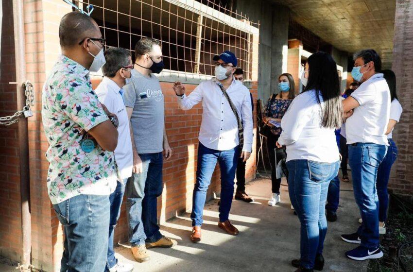 El Ministerio de Educación destaca obra en la Normal y ayuda de la Alcaldía de Villavicencio