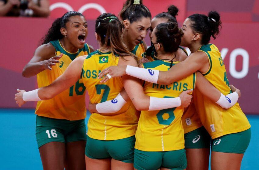 Brasil y la anfitriona Colombia adelante en Sudamericano Femenino de Voleibol