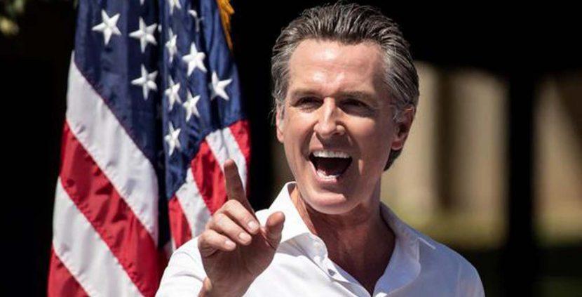Fracasa la revocatoria contra el gobernador demócrata de California