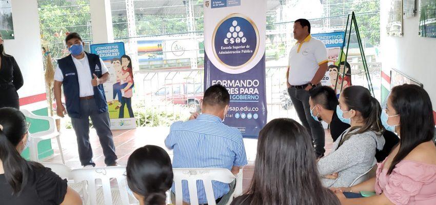 Veintidós estudiantes asisten a clases de la ESAP en Mesetas